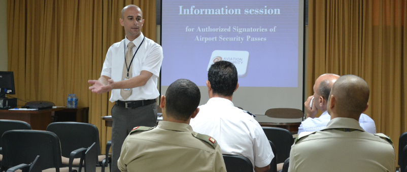 AVSEC Banner - Information Session